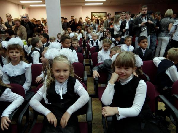 День знаний 2012 в районе Косино-Ухтомский-2