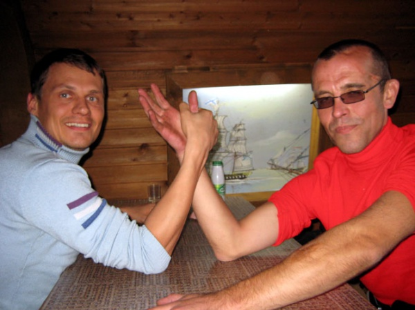 Дядя Дима и дядя Юра. КМК 2008 год.