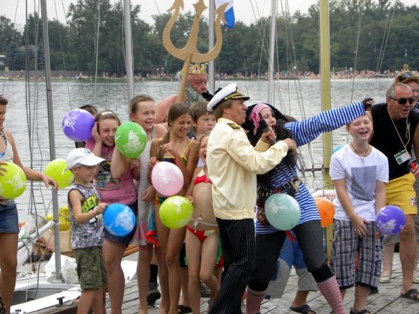 День Нептуна в Косинском морском клубе 2011-7