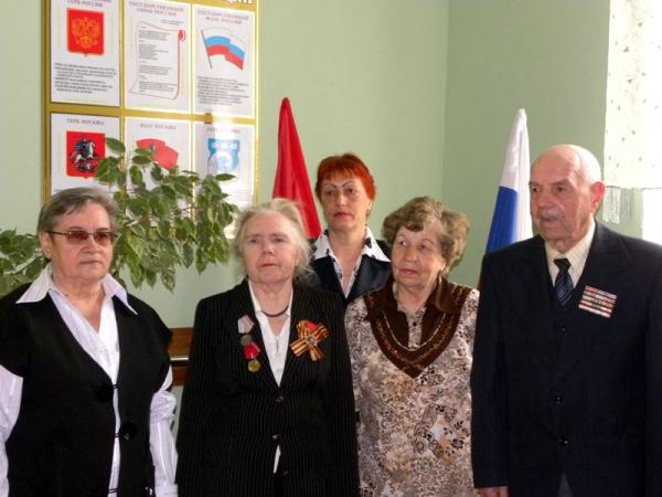 """Вручение копий """"Знамени Победы""""-7"""