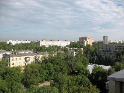 вид с моего балкона:)