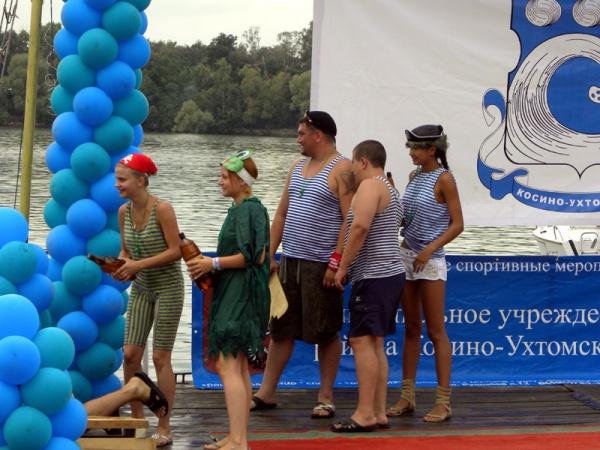 День Нептуна в Косинском морском клубе 2011-2