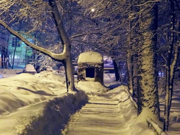 Снегопад 4 февраля 2013 года