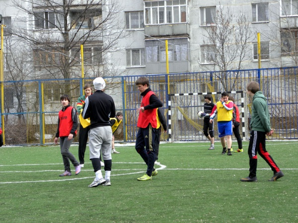 Открытый турнир по мини футболу-3