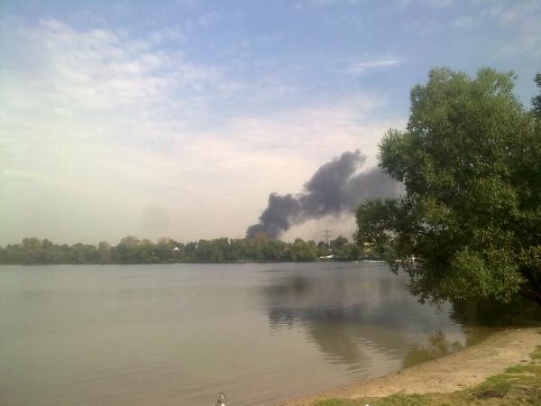 Пожар в Новокосино-2