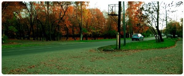 Ах как гулял я на Большой Косинской).Сентябрь 2013-ого.