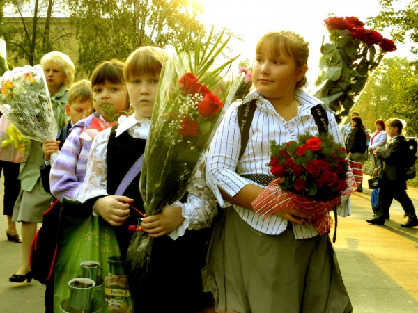 1 сентября 2011 года. Школа №1022.
