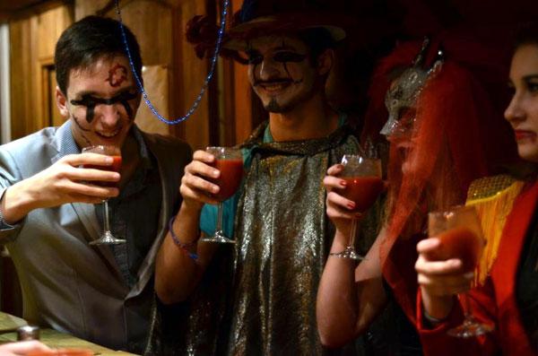 Хеллоуин в Морском клубе. Осень, 2013 год.