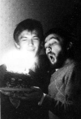 День рождение Володи Тюрина