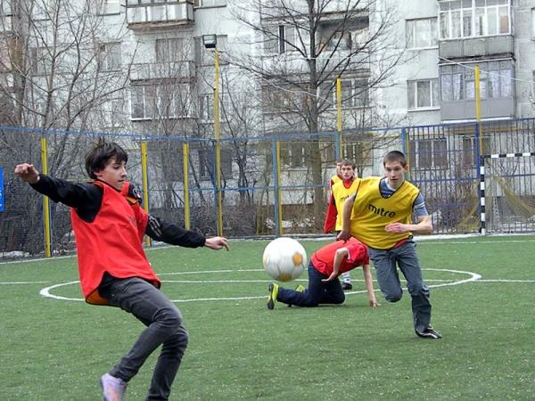 Открытый турнир по мини футболу в Косино-4