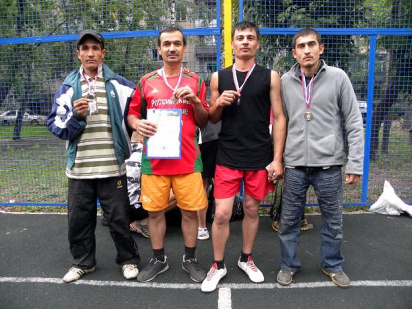 "Косинская команда по волейболу ""Бухара"""