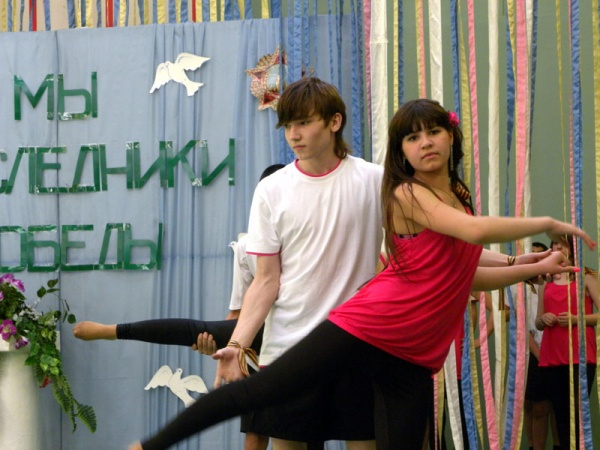 Спортивный праздник 2010 в школе №1022-6