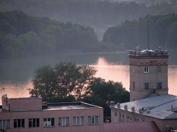 Канал на Черное озеро