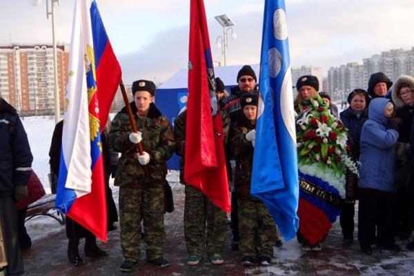 Открытие памятника Защитникам Отечества 2014 год-21