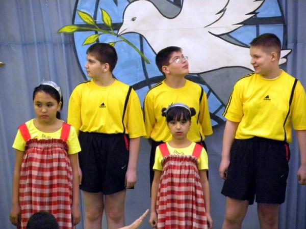 Спортивный праздник 2011 в школе №1022-5