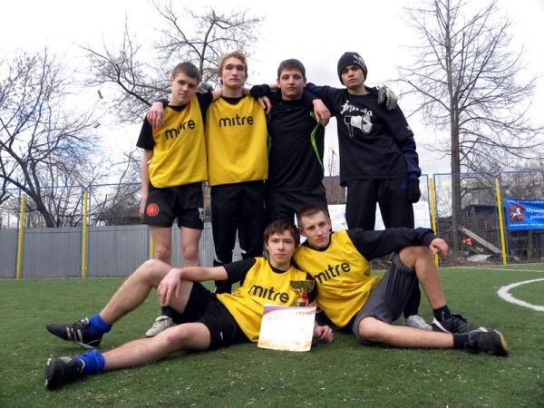 Открытый турнир по мини футболу в Косино-5