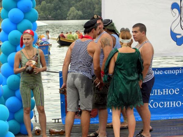 День Нептуна в Косинском морском клубе 2011-4