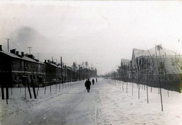 Косино. Улица Чёрное Озеро. 1950-1960гг.