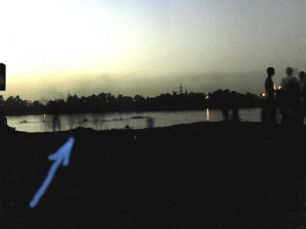 Ночной пляж. Инфракрасная камера зафиксировала непонятные тени...