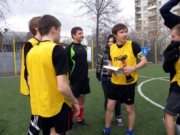 Открытый турнир по мини футболу-1