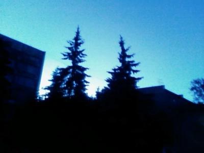 Ночь в Косино...