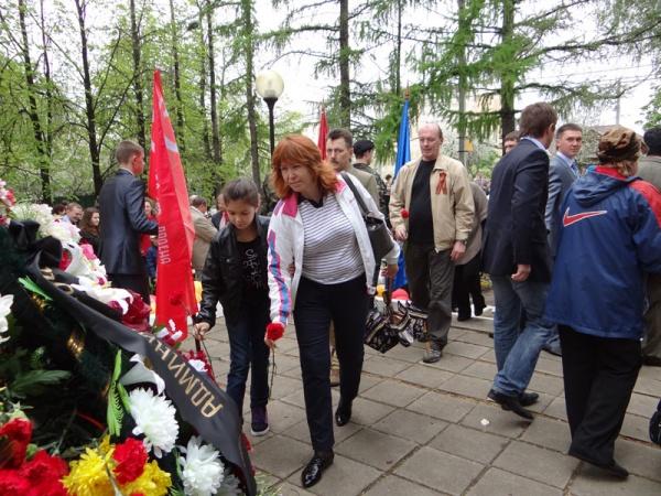 День Победы в районе Косино-Ухтомский. 2012 год.-16