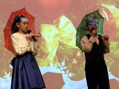 Гала-концерт Вдохновение. Школа №2036-2