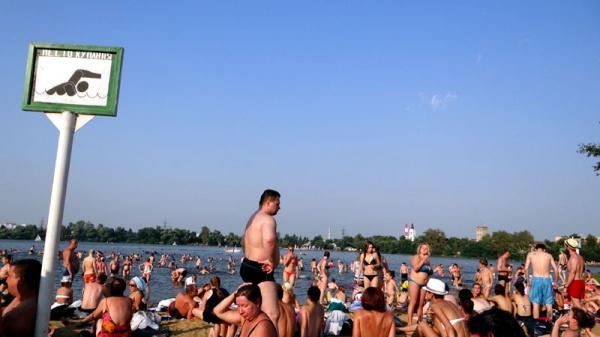 Белое озеро. Пляжники 2015.-30