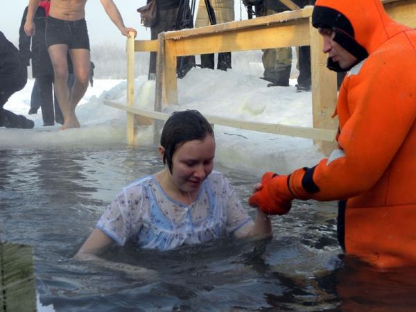 Праздник Крещения Господня в Косино 2011-7