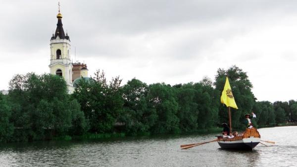 Спуск ботика Петра Первого 2015-36