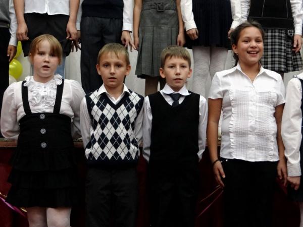 День учителя в школе №1022, 2012 год.