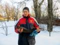 Вот такой вот осетр! Белое озеро январь 2014 год.