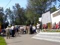 Торжественный митинг у стелы Победы в Косино, посвященный памяти погибших воинов в ВОВ