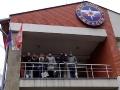 """Детишки из школы №1022 на балконе Спасательной станции """"Косино"""""""