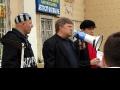 """Председатель партии """"Яблоко"""" Сергей Митрохин у микрофона"""