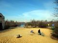 Святое озеро. Апрель 2014.