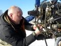 Иваныч готовит аппарат к полёту