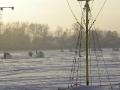 Рыбаки в лютый мороз...