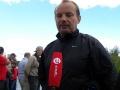 Станислав даёт интервью телеканалу ТВ центр