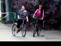 Полина и Юля на велосипедной прогулке