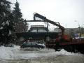25 февраля 2011 года. Эвакуация автомобилей у института