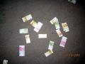 На новый год в Косино, деньги валялись просто на земле...