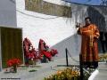 Обряд освещения мемориальной доски в Косино