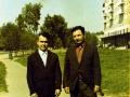Николай Петрович Соколов с товарищем по работе