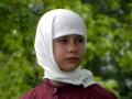 Моденская в Косино. Девушка - крестьянка.