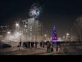 Новогодняя ночь.Кожухово. ))))))