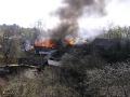 Косино в огне. Весна 2009 года.