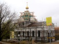 Строительство храма на Святом озере