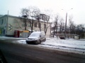 Первая жертва весеннего снегопада