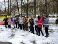 Новогодний праздник в Косино 2011/ Перетягивание каната.
